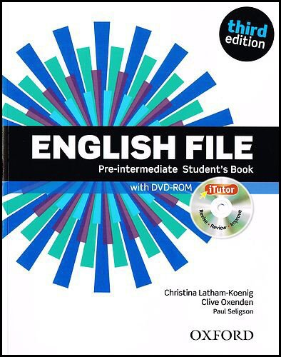 English File third edition: English File - Pre-Intermediate Student's Book. Online Skills (+Itutor)