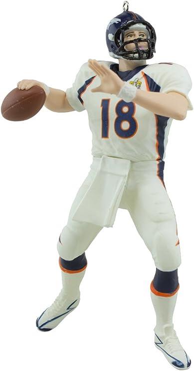 "2016 /""Peyton Manning/"" Super Bowl 50 Champion Denver Broncos Hallmark Ornament"