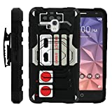 MINITURTLE Case Compatible with Case for Alcatel Fierce XL |[ Armor Reloaded ] Rugged Armor Impact Hard Rubber Durable Unique Creative Cover + Belt Clip – Game Controller Review