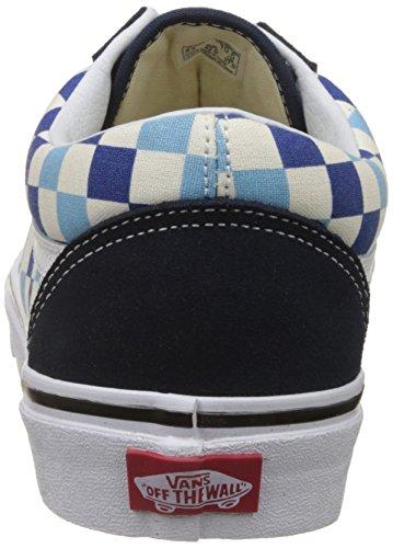 Classic Blue Topaz Old Shoes Vans Unisex Blue Skool Checkerboard Skate xSnnFwqP