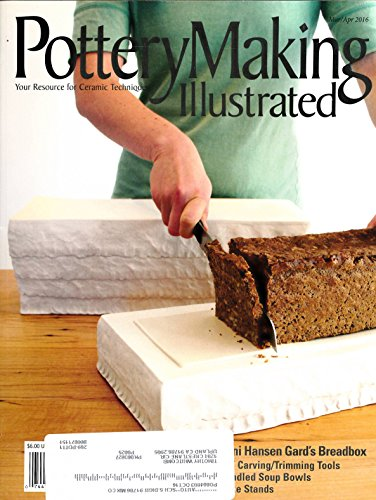 Pottery Making Illustrated : Articles- Ornamental Sprig Building; Handled Soup Bowl by Paul Eshelman; Simple 8 Sided Casseroles; DIY Carving & Trimming Tools; Custom Embossed Tiles (Embossed Soup)