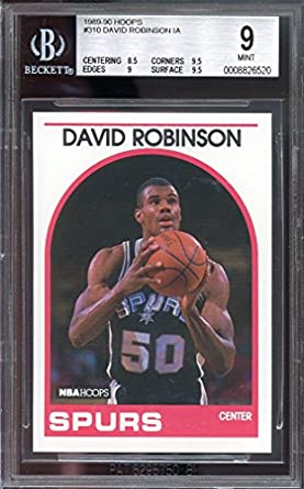Amazoncom 1989 90 Hoops 310 David Robinson Ia Spurs