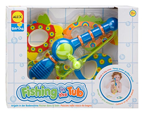 Rub Alex (ALEX Toys Rub a Dub Fishing in the Tub)