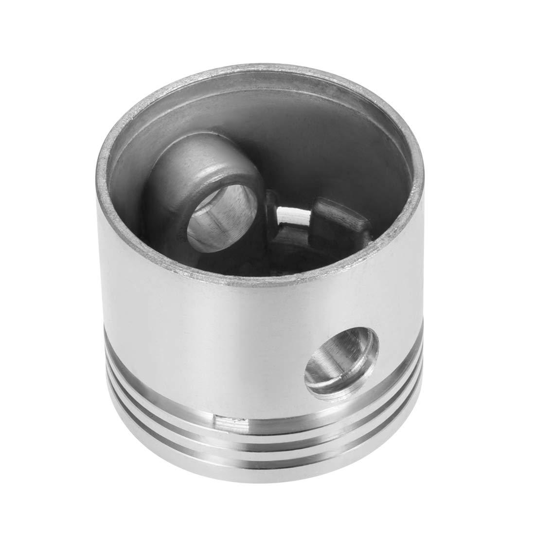 sourcing map Compresor de aire motor pistón aleación de aluminio de 47 mm de diámetro 40 mm de altura con un diámetro de 12 mm: Amazon.es: Bricolaje y ...