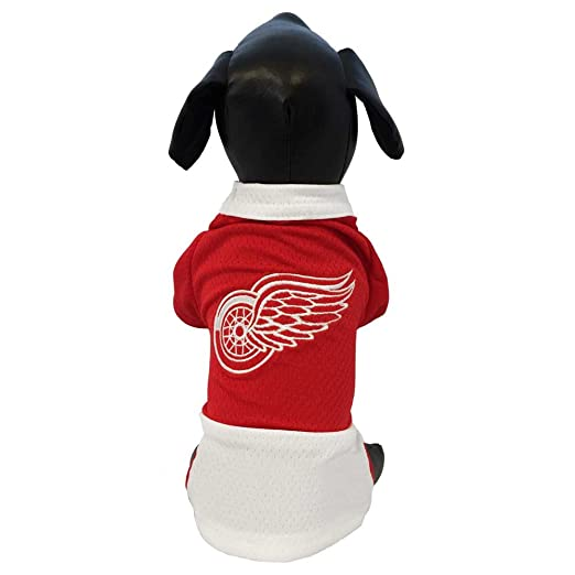 new product 90fbf b54aa All Star Dogs NHL Unisex NHL Detroit Red Wings Athletic Mesh Dog Jersey