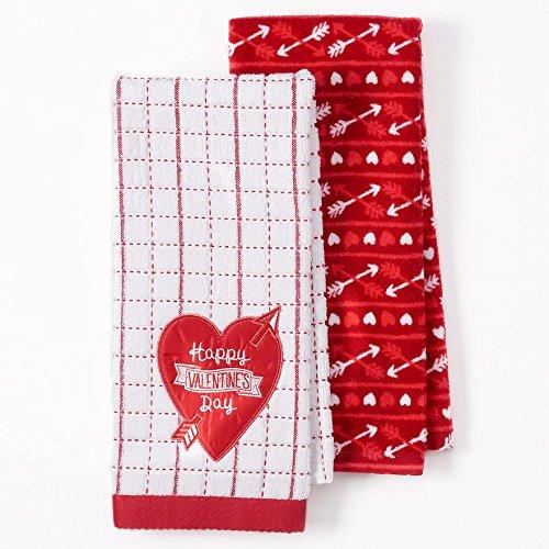 Chocolate and Wine Valentine Tea Towel Valentine Tea Towel Valentine Dish Towel Valentine Hand Towel Valentines Valentine Kitchen Towel