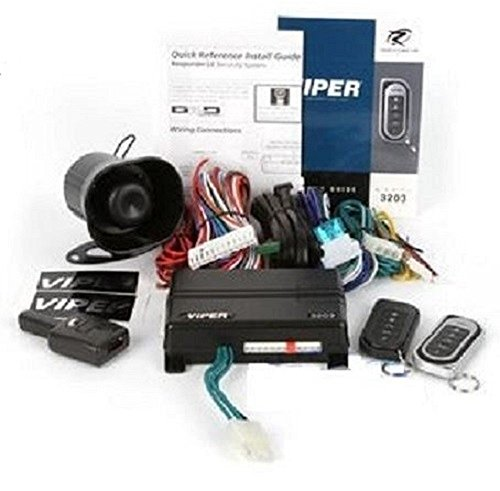 DEI 3203V Viper Super Code 2-Way Responder LE Car Alarm V...