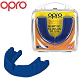 OPRO Snap-Fit Mouthguard | Gum Shield for Hockey, Rugby, and Other Contact Sports - No Boiling or Fitting Required -18 Month Warranty (Adult and Youth Sizes)