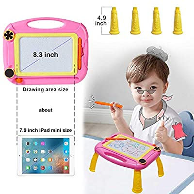 SEPHIX Baby Toys for 1 2 3 Year Old Girl Gifts, Magnetic Drawing Board for Little Girls Birthday Gifts for 1 2 3 Year Old Girls Gifts Age 1-4, Magna Drawing Doodle Board for Toddler Girls Toys Age 1-4: Toys & Games