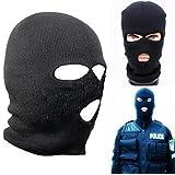 3 Hole Knitted Face Mask Balaclava Hat Ski Army Cap Beanie Hood