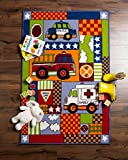 Playmat Play Rug Educational Area Rug for Kids