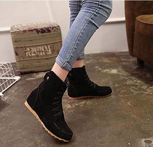 En Mode Noir Chaussures Bottes Chelsea Et De Femme Daim Bottines Automne Martin Pour Hiver EwwnpqHOg