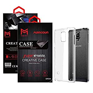 Margoun for Samsung Galaxy Note 4 Case Soft Clear TPU Back Cover Protection Case - Transparent Clear