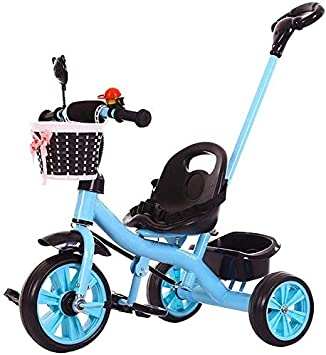 WLD Niños S Vehículo de entrenamiento Niños S Triciclo Trolley ...