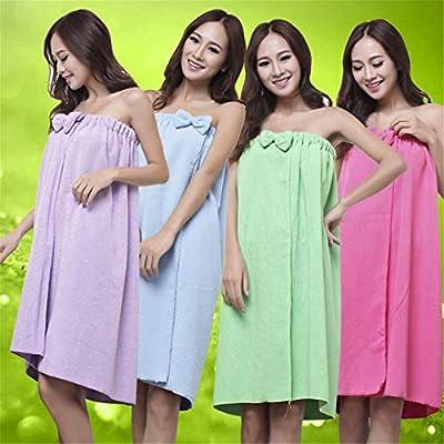 Bath Towels Fashion Lady Girls Wearable Fast Drying Magic Beach Spa Bathrobes Bath Skirt Beach Towel s Toalha