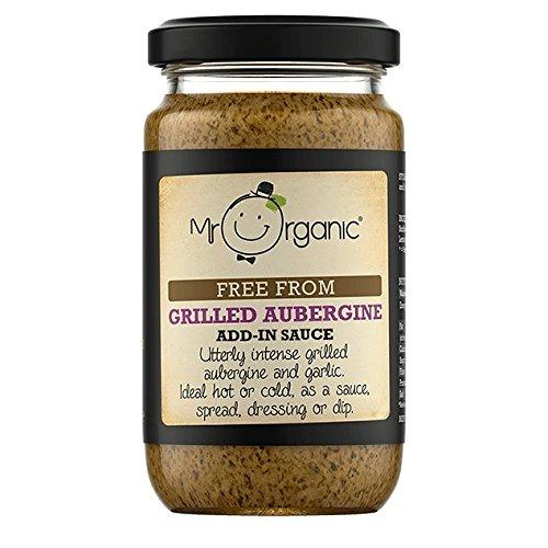 Mr Organic Salsa de Remojo de Berenjena Vegano 190g: Amazon.es: Alimentación y bebidas