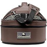 Sleepypod Mini Pet Bed Dog or Cat Traveler Carrier DARK CHOCOLATE