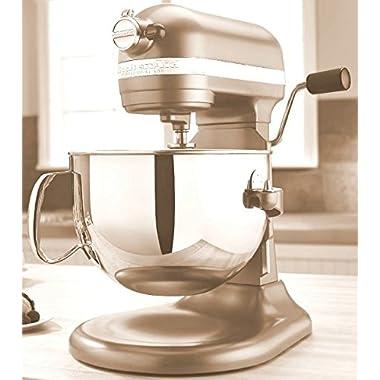 KitchenAid Professional 600 Series KP26M1XER Bowl-Lift Stand Mixer, 6 Quart, Dark Green William Sonoma (Champagne)