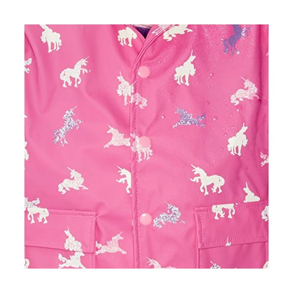 Hatley Girls' Printed Raincoats 4