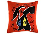 MIRO – PILLOWCASE – Woman, Bird (1978)