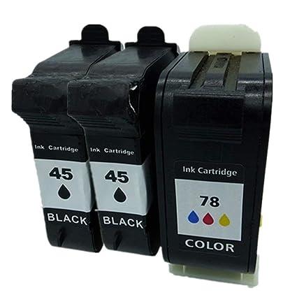 No-Name remanufacturados Cartuchos de Tinta reemplazo para HP 45 ...