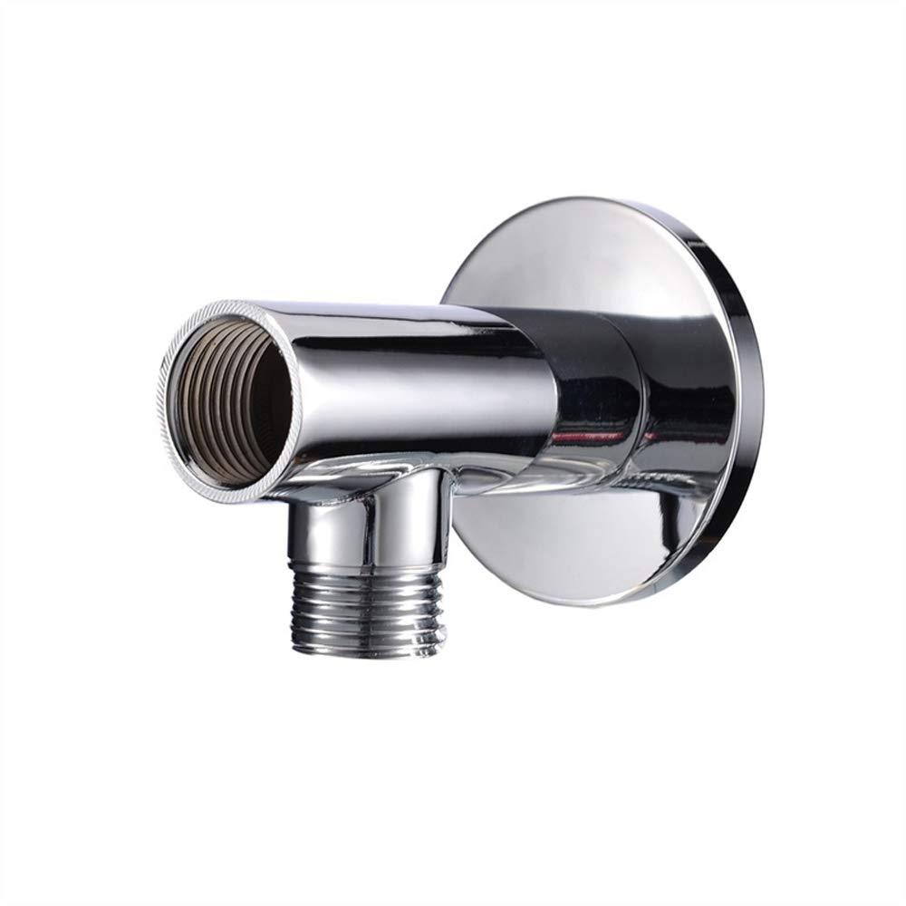 argento Practicalwall soffione prolunga tubo doccia rame braccio doccia Holder testa fisso sedile