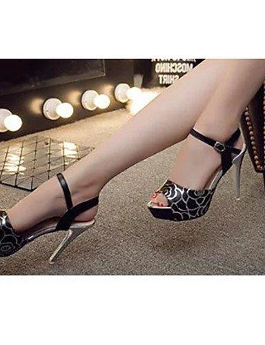 5 5 Uk4 chaussures Chaussures White Aiguille Blanc Femme Rose us6 Cn37 Eu37 À décontracté Ggx 5 noir talon 7 Talons talons polyuréthane BnZWxZz