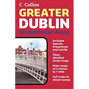Greater Dublin Streetfinder Atlas