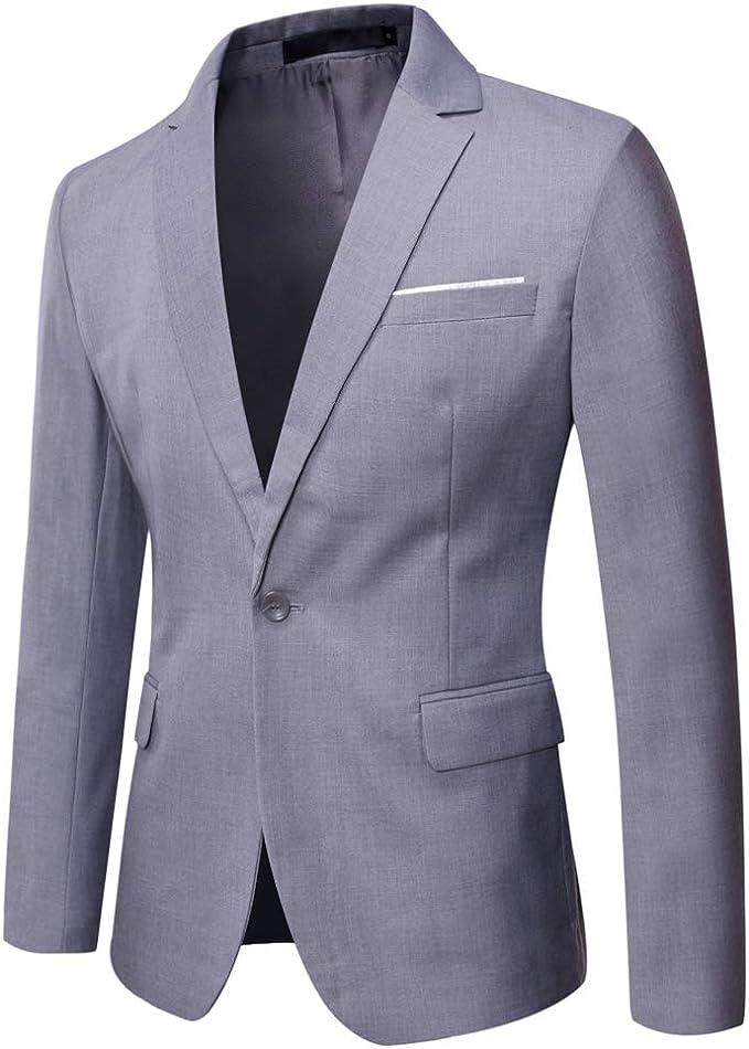 WULFUL Men's Suit Jacket