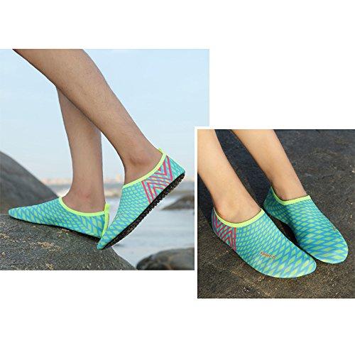 ZEVONDA Shoes 5 Aqua Surf Snorkeling Diving Style C Womens Mens qrqc1WBg