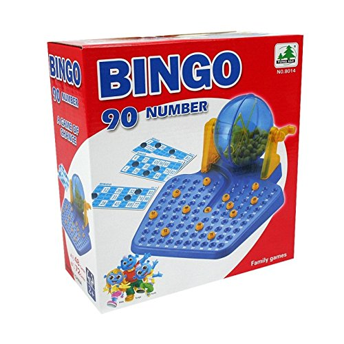 Family games BINGO Lotto 90 numbers 72 playing cards for age 6 years old up (Blade Dot Helmet)