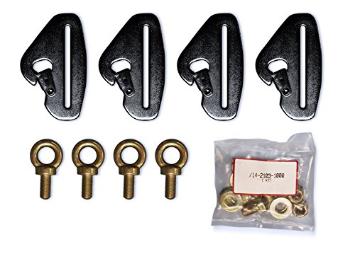 - DragonFire 14-2103 Quick-Release Harness Mount Kit - Orange Cycle Parts