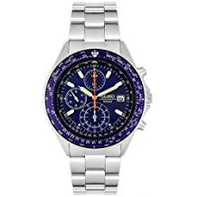 Seiko Flightmaster Pilot Silver Watch SND255P1