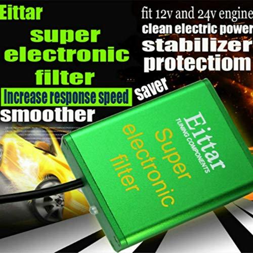 Fuel System -for Mitsubishi Magna Mirage All Engines Super Electronic  Filter Performance Chips Car Pick Up Fuel Saver Voltage Stabilizer