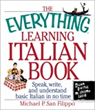 Learning Italian Book, Michael P. San Filippo, 1580627242