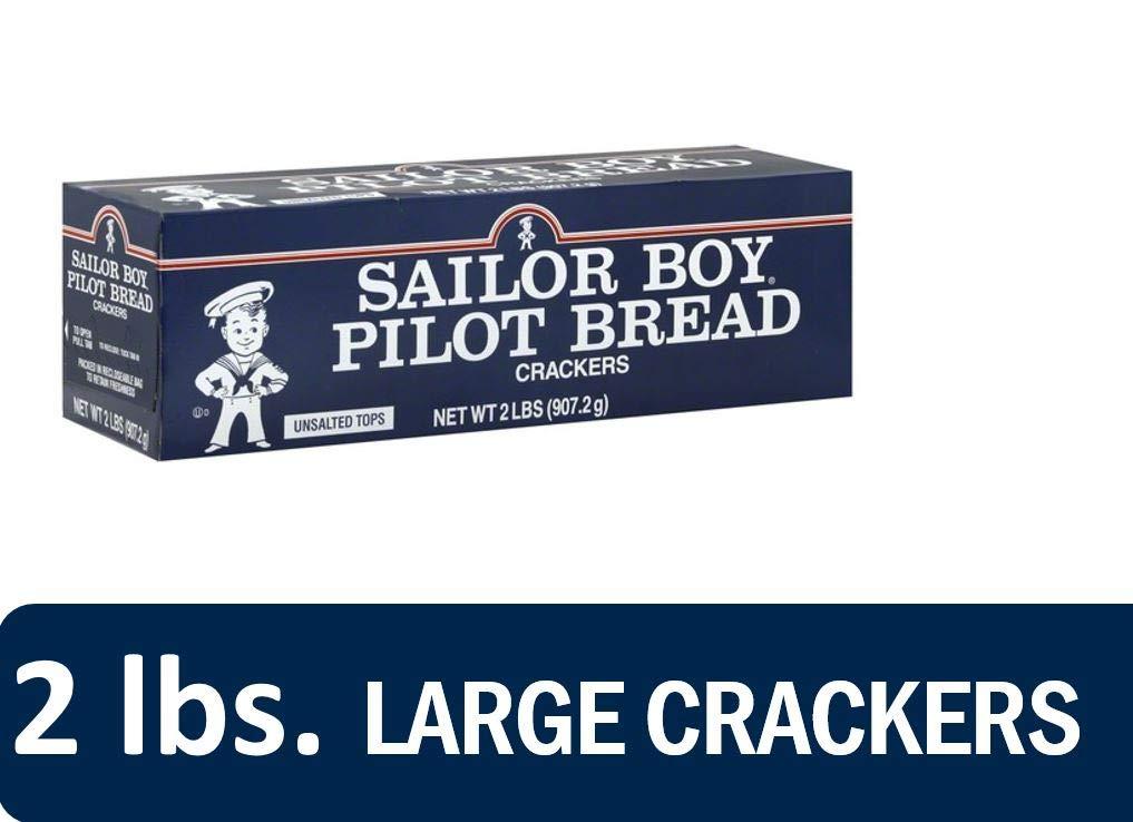 Sailor Boy Pilot Bread Crackers, 2 lb by Sailor Boy