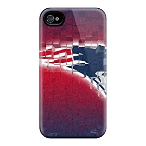 Perfect New England Patriots Cases Covers Skin Samsung Galxy S4 I9500/I9502 Phone Cases