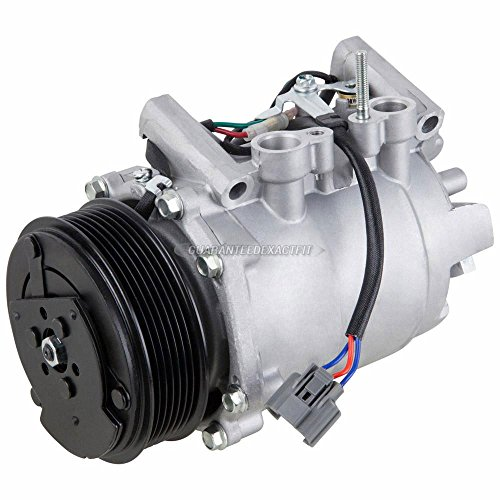 (AC Compressor & A/C Clutch For Acura TSX 2004 2005 2006 2007 2008 - BuyAutoParts 60-01928NA NEW)