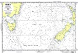 NGA Chart 601: Tasman Sea [New Zealand to Se Australia] (WATERPROOF) 29 x 43