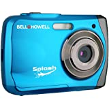 Bell+Howell Splash WP7 12 MP Waterproof Digital Camera Blue