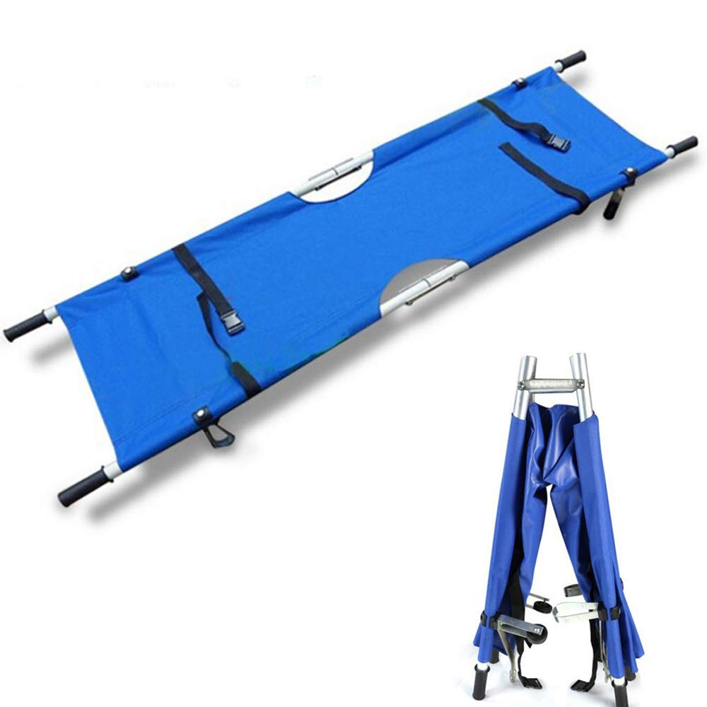 Aluminum Alloy Stretcher Stainless Steel Stretcher Steel Folding Stretcher Medical Stretcher First Aid Rescue Stretcher