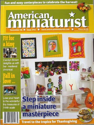 American Miniaturist Magazine PDF