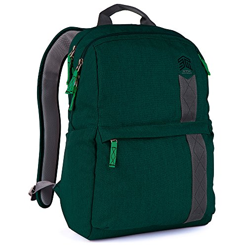 STM Banks Backpack For Laptop & Tablet Up To 15'' - Botanical Green (stm-111-148P-08) by STM (Image #2)