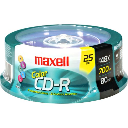 Maxell 648446 700Mb Cd-Recordable from Maxell