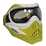 v force profile - V-FORCE Grill Paintball Mask / Goggle - SE - White on Lime