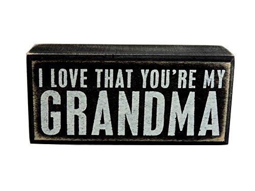 Grandma Gift From Grandson Or Granddaughter For Birthday