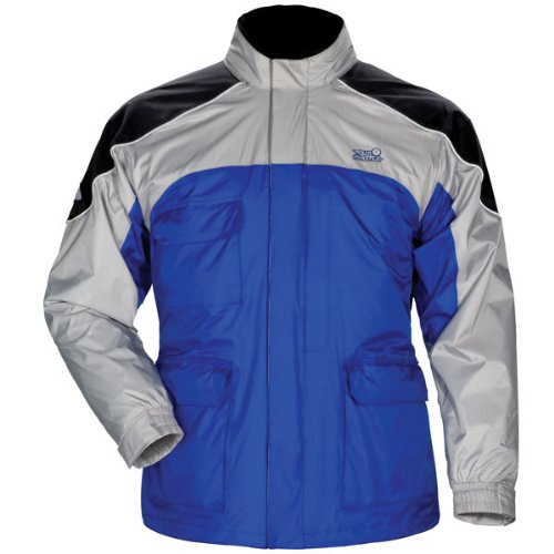 Tour Master Sentinel Men's Jackets Sports Bike Racing Motorcycle Rain Suits - Blue / 2X-Small