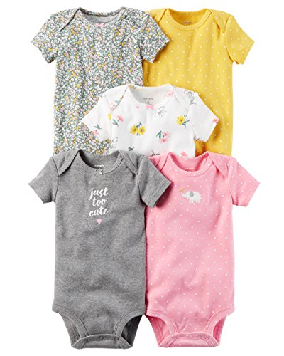 (Carter's Baby Girls Multi-Pk Bodysuits )