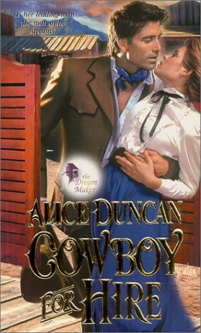 book cover of The Cowboy for Hire