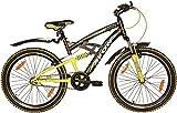 Avon ALTAIR Single Speed Cycle :24 Inch (matt black/pantone green)